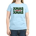 Santas Xmas Women's Light T-Shirt