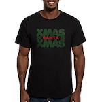 Santas Xmas Men's Fitted T-Shirt (dark)