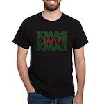 Santas Xmas Dark T-Shirt
