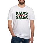 Santas Xmas Fitted T-Shirt