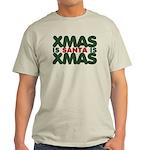 Santas Xmas Light T-Shirt