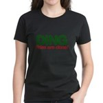 Santas Xmas Women's Dark T-Shirt