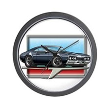 Black 68 Cutlass Wall Clock