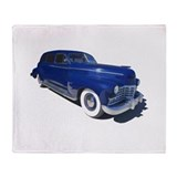 Classic Cadillac Throw Blanket