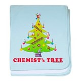 Chemist's TREE! HOLIDAY baby blanket