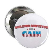 "Building surveyor for Cain 2.25"" Button (10 pack)"