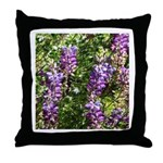 California Lupine Throw Pillow