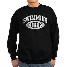 Swimming Chick Sweatshirt