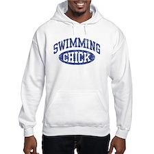 Swimming Chick Hoodie