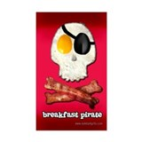 Breakfast Pirate... Decal