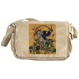 Goat Dance Messenger Bag