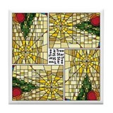 2011 christmas Tile Coaster