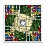 Cool 2011 christmas Tile Coaster