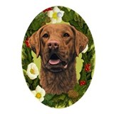 Chesapeake Bay Retriever Ornament (Oval)