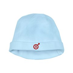 Scrubs Murse Male Nurse Symbol baby hat