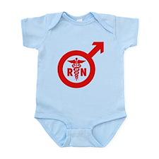 Scrubs Murse Male Nurse Symbol Infant Bodysuit