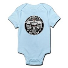 USN Electricians Mate Skull E Infant Bodysuit