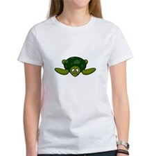 Cartoon Turtle Camisetas