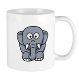 Cartoon Elephant Small Mug