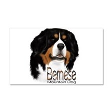 Cute Bernese mountain dog puppy Car Magnet 20 x 12