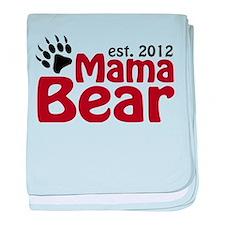 Mama Bear Est 2012 baby blanket