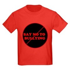 T - say no to bullying