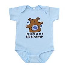 Teddy Bear Future Big Brother Infant Bodysuit