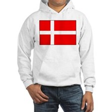 Danish National Flag Hoodie