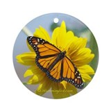 Monarch butterflies Ornament (Round)