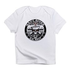 USN Navy Diver Skull ND Infant T-Shirt