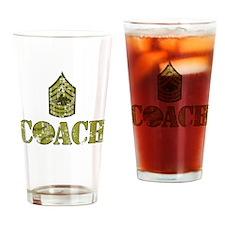 Baseball Coach - Drill Sergeant Drinking Glass