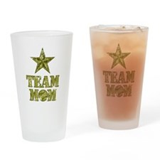 Baseball Team Mom - General Star Drinking Glass
