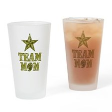 Football Team Mom - General Star Drinking Glass