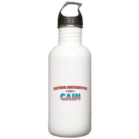 Driving instructor for Cain Stainless Water Bottle