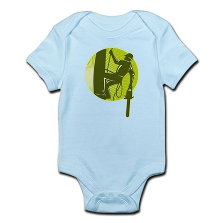 arborist tree surgeon Infant Bodysuit