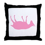 Fainting Goats Throw Pillow