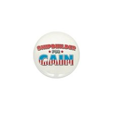 Shipbuilder for Cain Mini Button (10 pack)