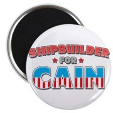 "Shipbuilder for Cain 2.25"" Magnet (10 pack)"