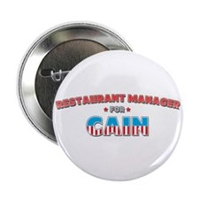 """Restaurant manager for Cain 2.25"""" Button"""
