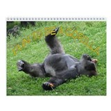 fun to be gorilla Wall Calendar