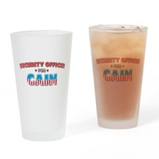 Security Officer for Cain Drinking Glass