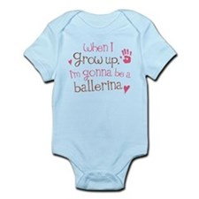 Kids Future Ballerina Infant Bodysuit