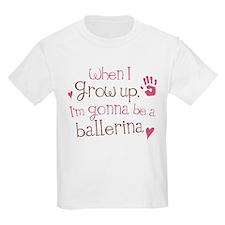 Kids Future Ballerina T-Shirt