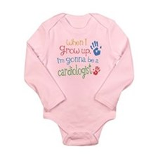 Kids Future Cardiologist Long Sleeve Infant Bodysu