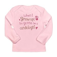 Kids Future Cardiologist Long Sleeve Infant T-Shir