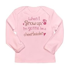 Kids Future Cheerleader Long Sleeve Infant T-Shirt