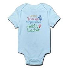 Kids Future Chemistry Teacher Infant Bodysuit