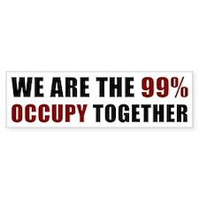 Occupy Together [st] Bumper Sticker