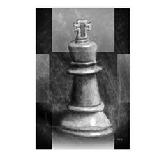 Chess King Postcards (Package of 8)