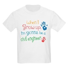 Kids Future Civil Engineer T-Shirt